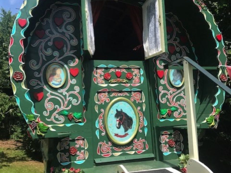 Our Gypsy Caravan is perfect forMagical Family Glamping